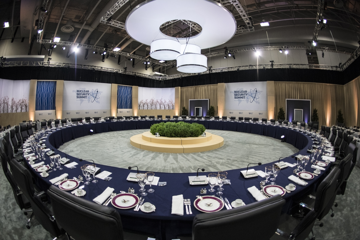 The Nuclear Security Summit in Washington DC on Thursday, March 31, 2016. (Ben Solomon/U.S. Department of State)
